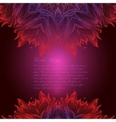 Set with Ornamental round mandalas Geometric vector image vector image
