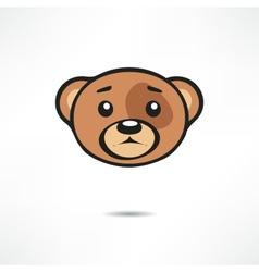 Upset bear vector