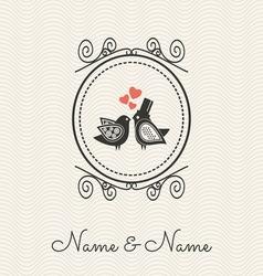 Wedding cards2 vector