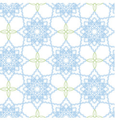 Arabic seamless pattern ramadan kareem islamic vector