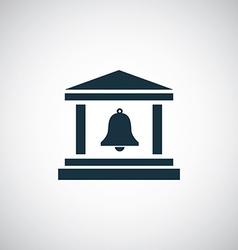 campanile icon vector image
