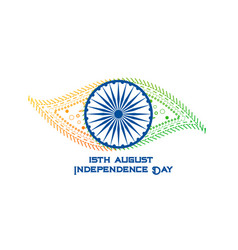 Creative happy independence day india banner vector