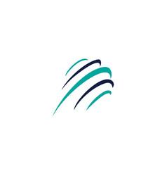 globe icons logo design concept vector image