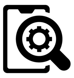 Mobile setting search vector
