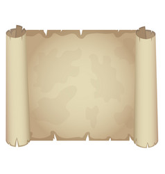 papyrus sheet old paper vector image