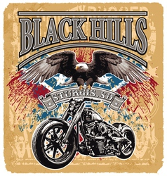 blackhills rider vector image