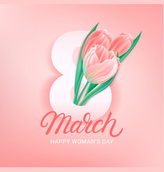 8 march greeting card poster banner template vector
