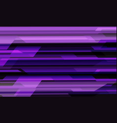 Abstract violet black cyber circuit geometric vector