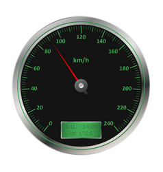 car speedometer2 vector image