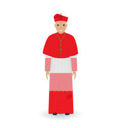 Pope or cardinal character in characteristic vector