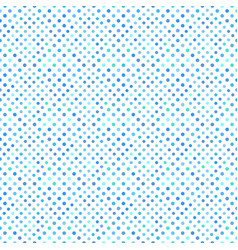 Seamless abstract light blue circle pattern vector