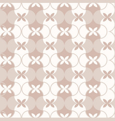 seamless pattern classical geometrical texture vector image