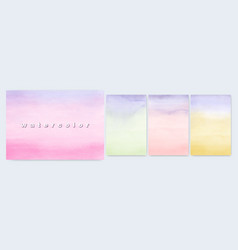 set abstract background design bright colorful vector image