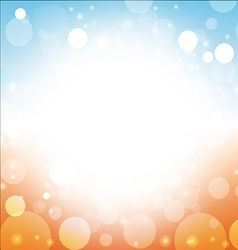 summer background abstract of sea sun beach sky vector image