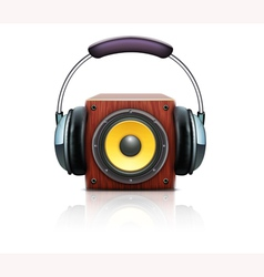 sound loud speaker vector image vector image
