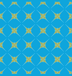 star geometric seamless pattern 1901 vector image