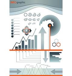 infographic design set element vector image
