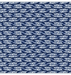 Seamless abstract blue pattern of horizontal vector image