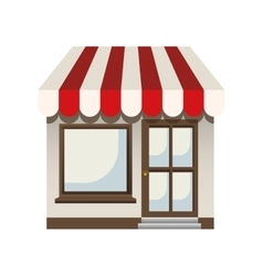 small store icon image vector image vector image