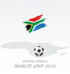world cup south africa vector image