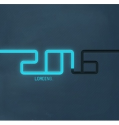 2016 Loading vector image