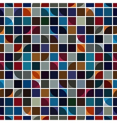 Bright geometric background squared abstract vector