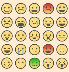 Emoticon Sets vector