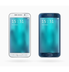 Galaxy S6 Edge vector image