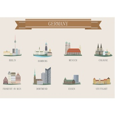 Germany city vector