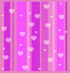 Holiday seamless pattern pink vector