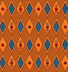 Mechanical seamless pattern vector image