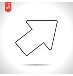 pointer icon vector image