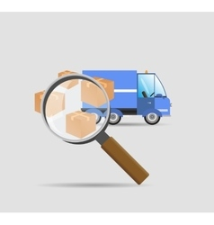 Search parcels vector
