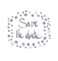 Wedding Invitation Lettering vector