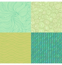 Pattern set vector image