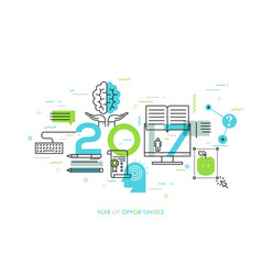 New prospects and predictions in internet courses vector
