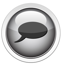 comment icon vector image vector image