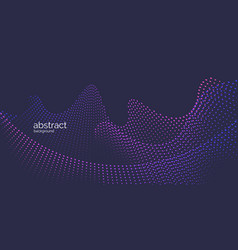 Abstract element with dynamic particles vector
