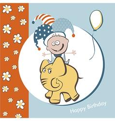 Birthday fun vector image vector image