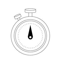 Chronometer device icon vector