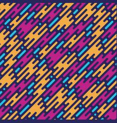flat style smoke seamless pattern vector image