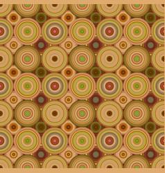 Geometrical circle mosaic pattern background vector