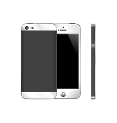 Mobile phone gadget vector image