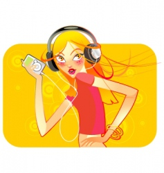 music is fun vector image