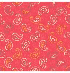 Paisley seamless print vector image