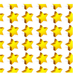 Repetitive star pattern editable graphics vector