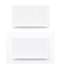 Steel panel radiator heating vector
