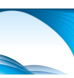 Wave water background icon vector