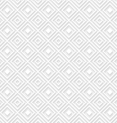 Abstract geometric white background vector image