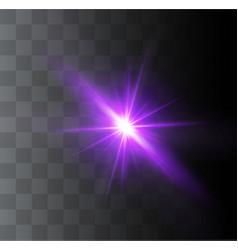 Beautiful glowing light vector